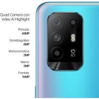 OPPO A94 5G DUAL SIM 128GB 8GB RAM BLUE ITALIA BRAND VODAFONE APP DISINSTALLABILI